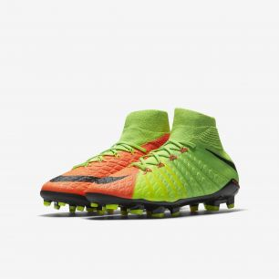 Детские бутсы NIKE HYPERVENOM PHANTOM 3 DF FG 882087-308 JR