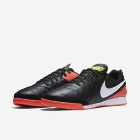 Игровая обувь для зала NIKE TIEMPO GENIO II LEATHER IC 819215-018 SR