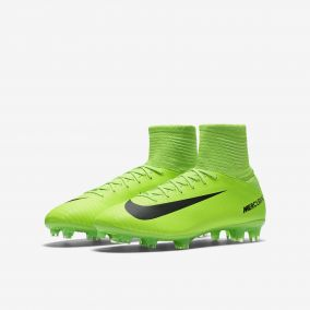 Детские бутсы NIKE MERCURIAL SUPERFLY V FG 831943-303 JR